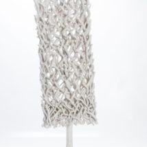 Pannello legno bianco cm.40x130
