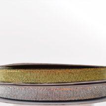 Rasetto oro/argento6x25 mt.
