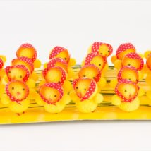Pulcino c/foulard cm.5 pz.24 e0400.46a