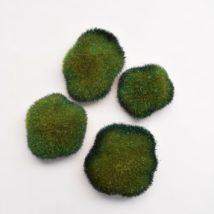 Muschio sintetico c/glitter pz. 4