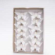 Farfalla cm. 8 c/clip pz.12