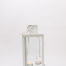 Lanterna metallo 15x15 h.30