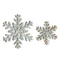 Snowflake decorationcm.5/3 pz.6+12