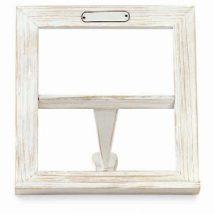 Leggio legno bianco cm.28,5x31